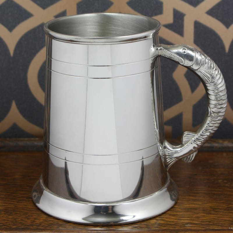 1 Pint Fish Handle Tankard