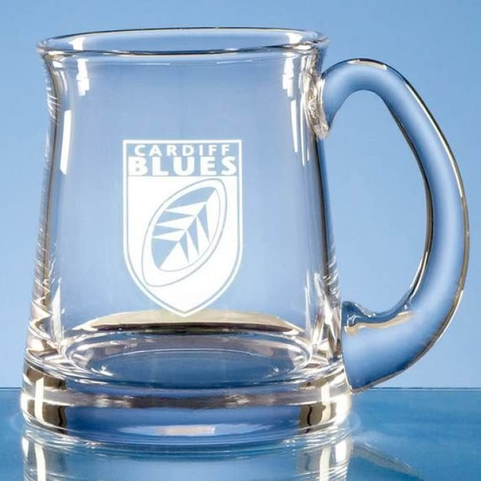 1 Pint Handmade Toddington Beer Glass Tankard