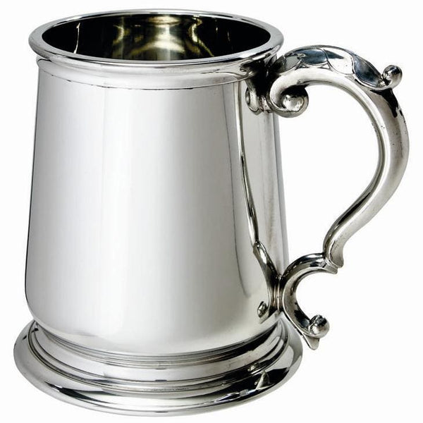 1 Pint Heavy Weight George III Pewter Tankard