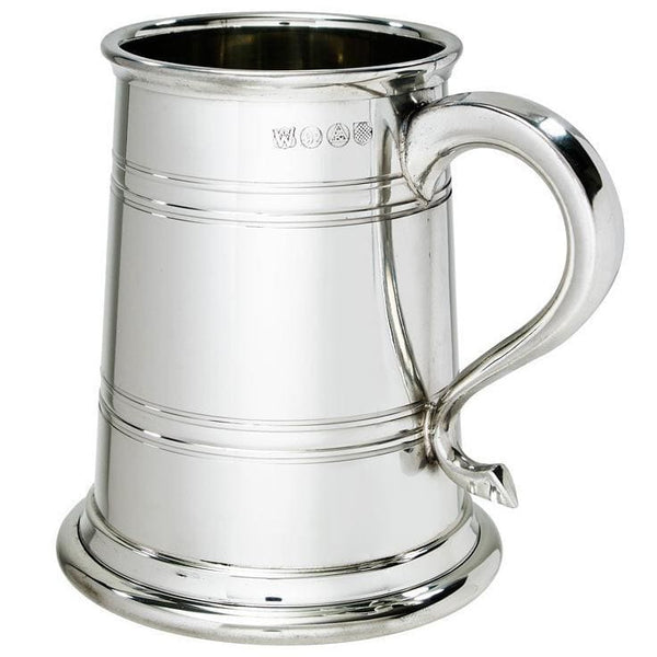 1 Pint Heavy Weight Heeley Pewter Tankard