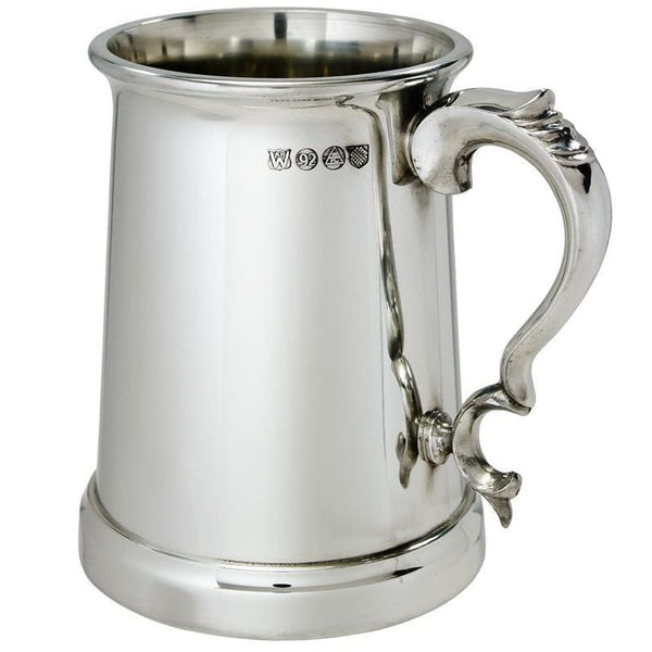 1 Pint Heavy Weight Vanguard Pewter Tankard
