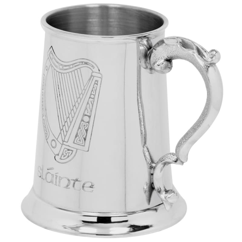 1 Pint Irish Harp Slainte Tankard