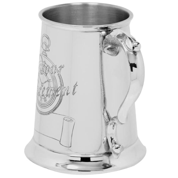 1 Pint Retirement Scene Tankard