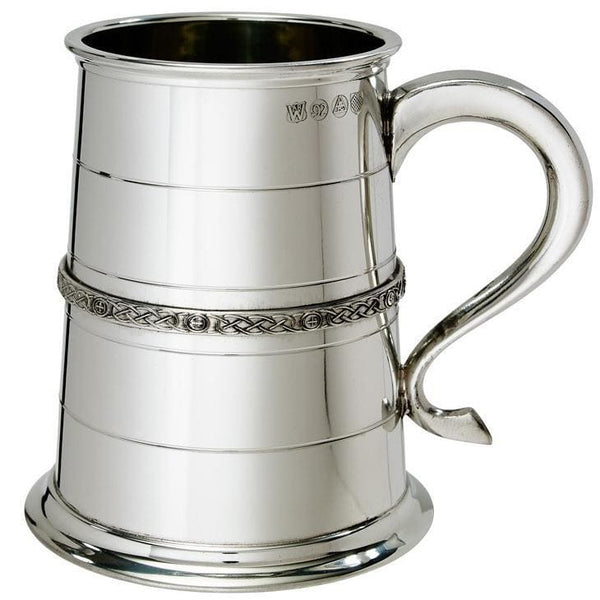 1 Pint Single Celtic Band Tankard