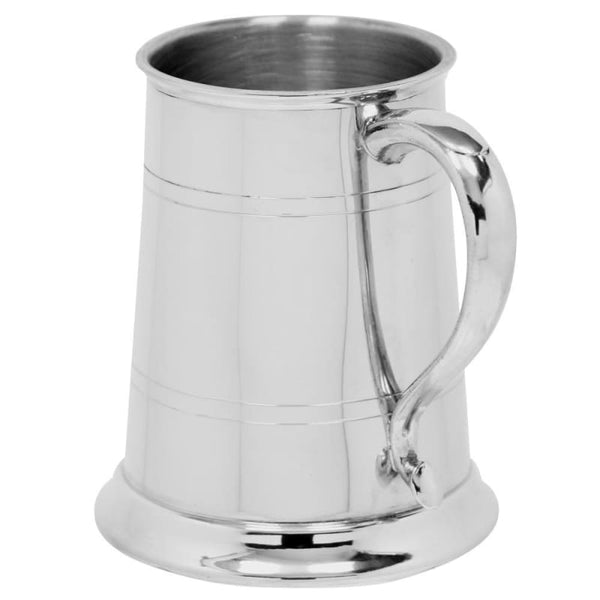 1 Pint Straight Swan Handle Tankard