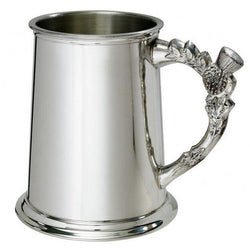 1 Pint Thistle Pewter Tankard