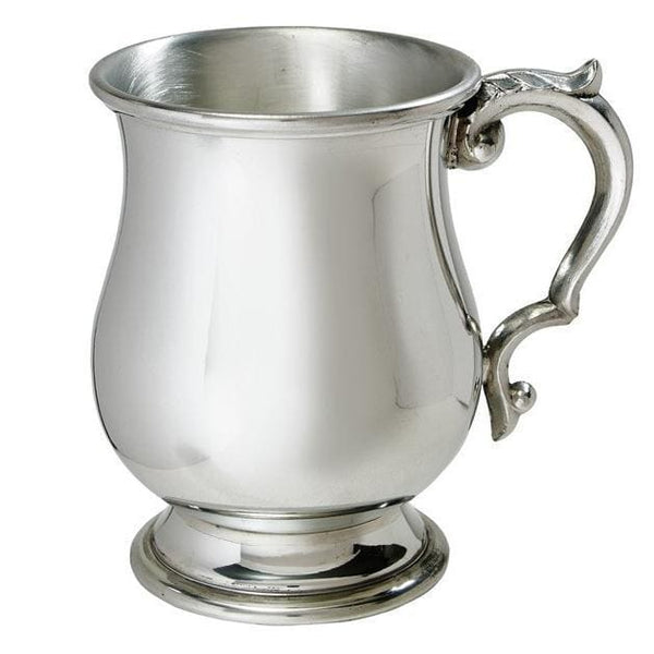 1/2 Pint Georgian Pewter Tankard