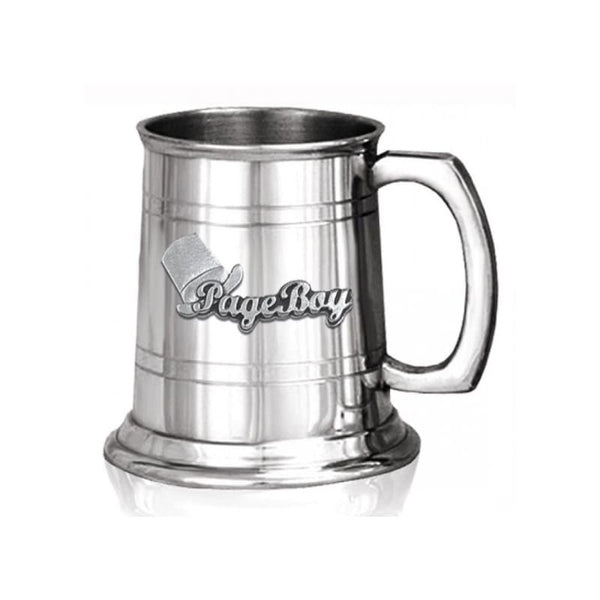 1/2 Pint Page Boy Pewter Tankard
