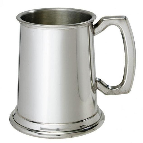 1/2 Pint Plain Pewter Tankard