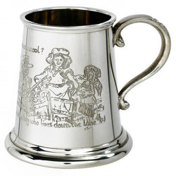 1/4 Pint Baa Baa Black Sheep Pewter Mug