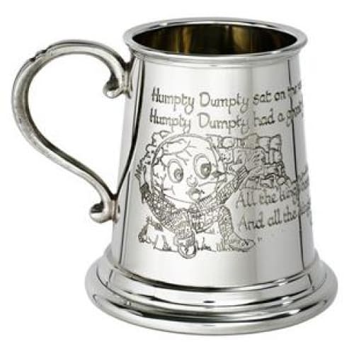 1/4 Pint Humpty Dumpty Pewter Mug