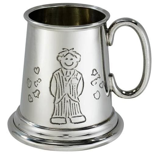 1/4 Pint Page Boy Pewter Mug