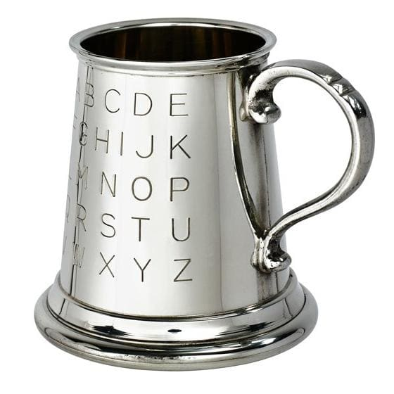 1/4 Pint Pewter Tutor Mug