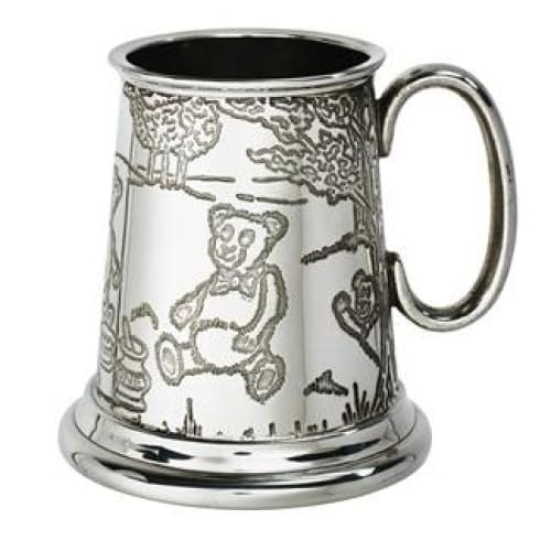 1/4 Pint Teddy Bears Picnic Pewter Mug