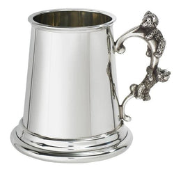1/4 Pint Teddy Handle Pewter Mug