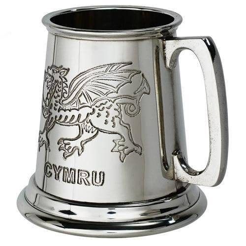 1/4 Pint Welsh Dragon Tankard