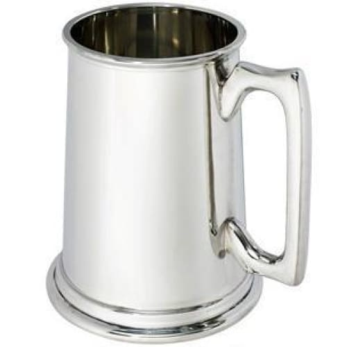 2 Pint Plain Pewter Tankard
