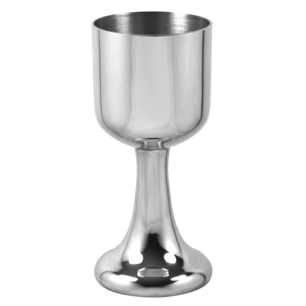 4 3/4 Plain Pewter Goblet