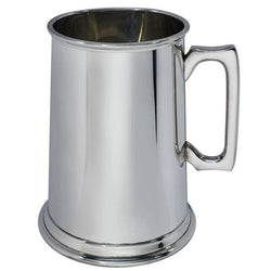 4 Pint Plain Pewter Tankard