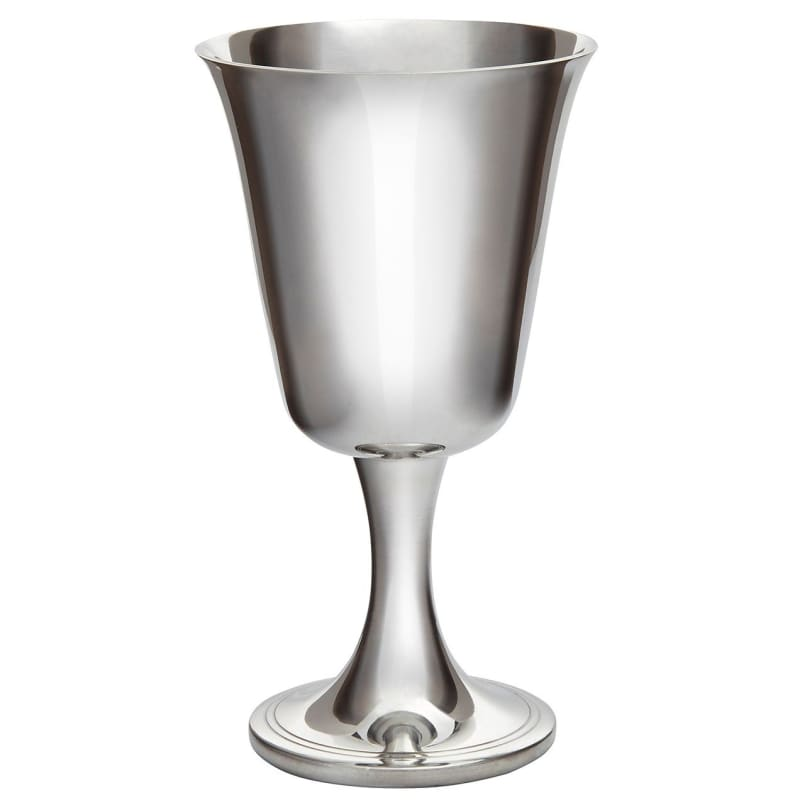 5 1/2 Large Bell Pewter Goblet