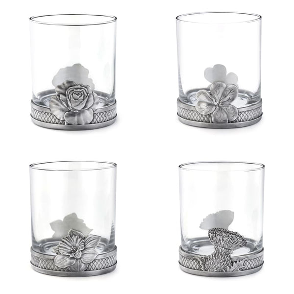 Irish Shamrock Whisky Tumbler by Royal Selangor 30cl