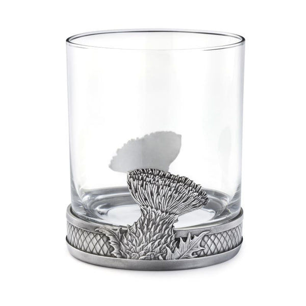 Scottish Thistle Whisky Tumbler by Royal Selangor 30cl