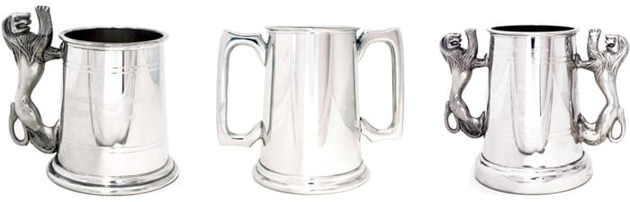 Images of Customised Tankards