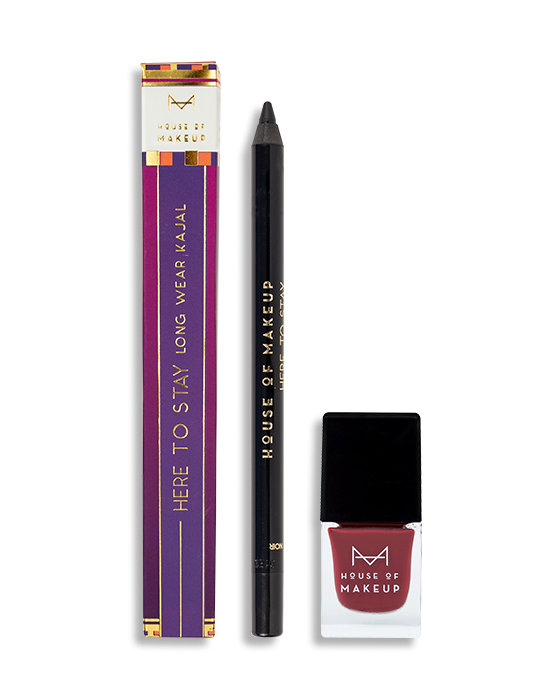 HERE TO STAY KAJAL NOIR + RUBELLITE COMBO - House Of Makeup