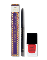 DOUBLE DUTY – SILVERRIGHTEOUS + NAIL LACQUER MAASAI RED COMBO - House Of Makeup