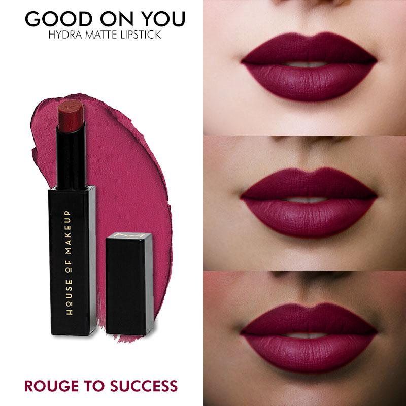 GOOD ON YOU HYDRA MATTE LIPSTICK - ROUGE TO SUCCESS