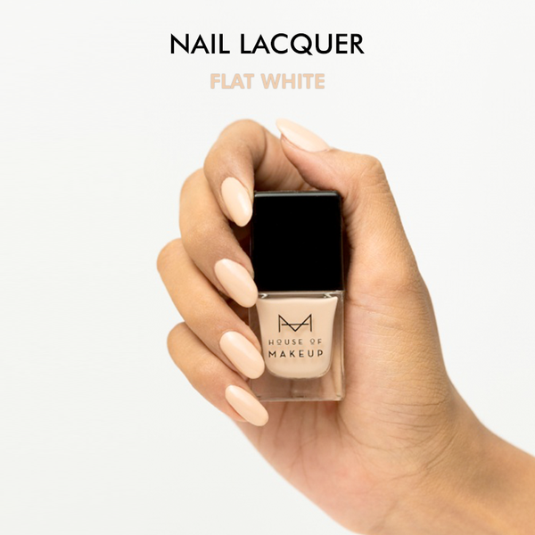 Nail Lacquer - FLAT WHITE<br><small>Mfg: June-20 |  Exp: May-22</small>