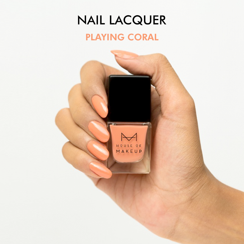 Nail Lacquer - PLAYING CORAL