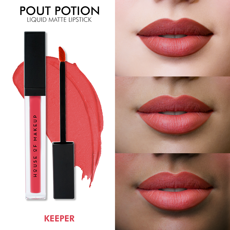 POUT POTION LIQUID MATTE LIPSTICK - KEEPER