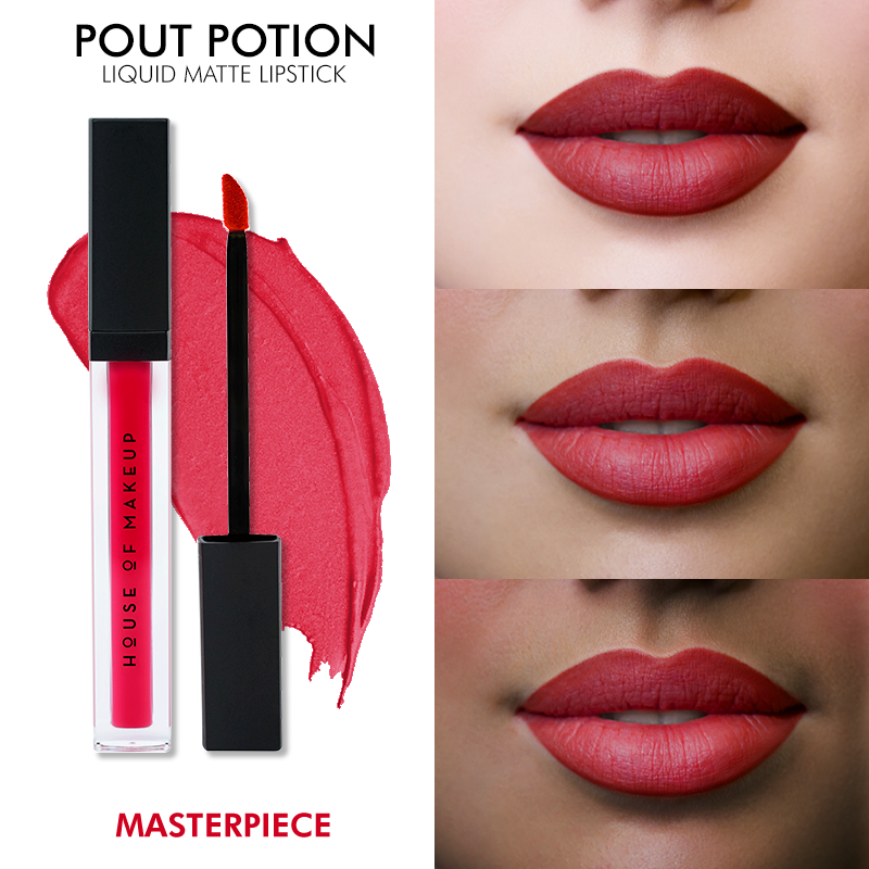 POUT POTION LIQUID MATTE LIPSTICK - MASTERPIECE