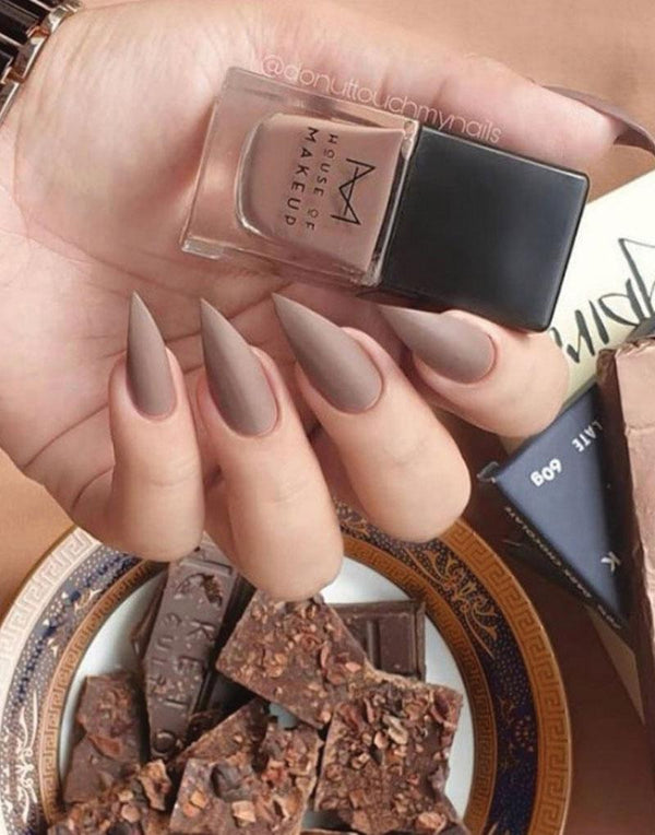 MATTE NAIL LACQUER - HOT CHOCOLATE <br><small>MFG: Feb-21 | EXP: Jan-23</small>