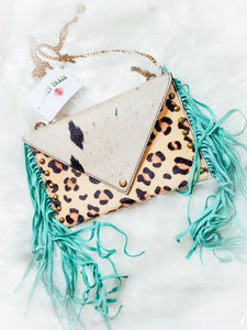 Fringe Leopard Crossbody - Sister Tribe Boutique