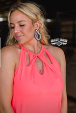 Load image into Gallery viewer, Neon Coral Twist - Sister Tribe Boutique