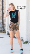 Load image into Gallery viewer, Leopard {Bow} Shorts - Sister Tribe Boutique