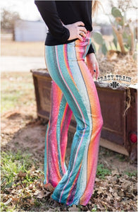 Stayin' Alive Flares - Sister Tribe Boutique