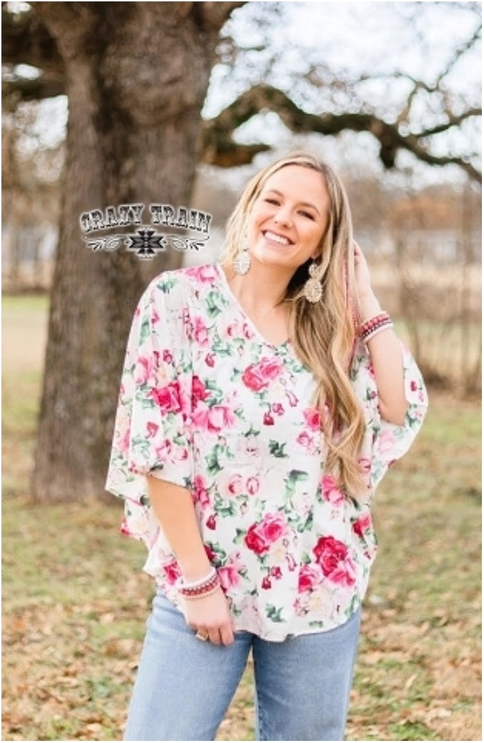Rose Queen Top - Sister Tribe Boutique