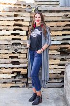 Load image into Gallery viewer, Walk the Line Duster - Sister Tribe Boutique
