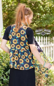 Sunflower Vest - Sister Tribe Boutique