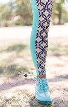 Load image into Gallery viewer, Aztec Yuma Compression Leggings - Sister Tribe Boutique