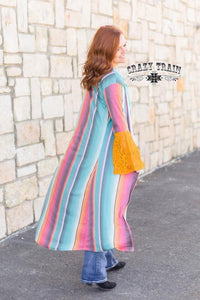 Serape Bell Duster - Sister Tribe Boutique