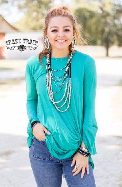Knot for Long**Teal - Sister Tribe Boutique
