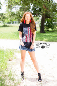 Python Flag Tee - Sister Tribe Boutique