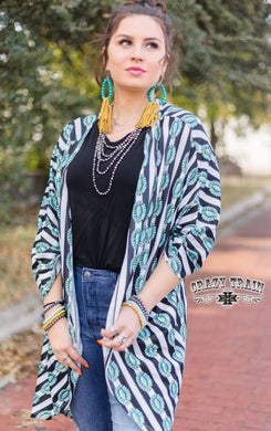 Concho Cardigan - Sister Tribe Boutique