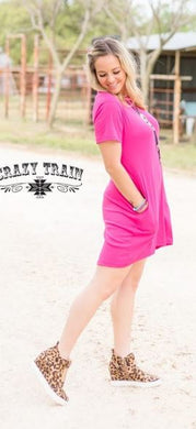 Pretty in Pink Dress - Sister Tribe Boutique