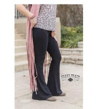 Load image into Gallery viewer, Black Bell Air Flares - Sister Tribe Boutique