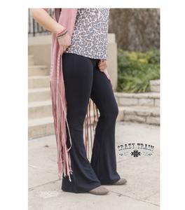 Black Bell Air Flares - Sister Tribe Boutique